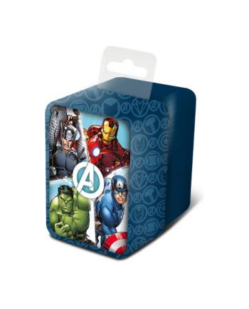 Zegarek analogowy w metalowym opakowaniu Avengers MV15787 Kids Euroswan