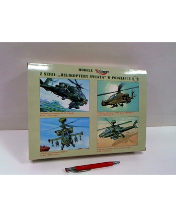 mirage modele Mirage zest.d/sklej.Helik.AH-64D ApacheLongb.72054