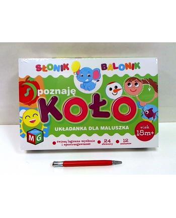 multigra Poznaję koło - Słonik Balonik 01294