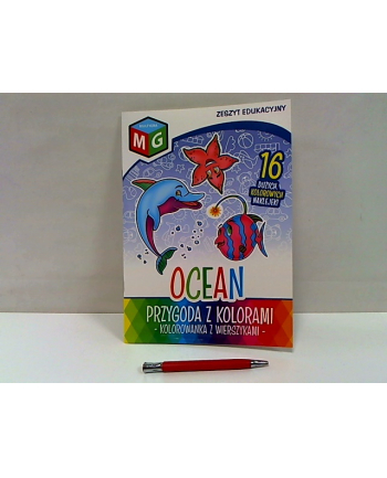 multigra Przygoda z kolorami -Ocean kolorowanka 13410