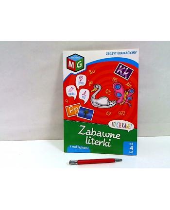 multigra Zabawne literki-zeszyt eduk.z naklej.13786