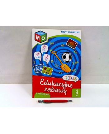 multigra Edukacyjne zabawy-zeszyt eduk.z naklej.13809