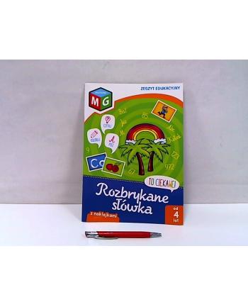 multigra Rozbrykane słówka-zeszyt eduk.z naklej.13816