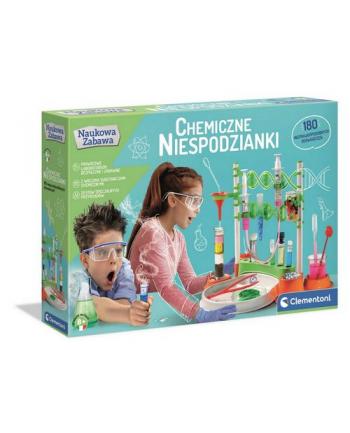 Clementoni Naukowa zabawa. Wielkie laboratorium chemiczne 50667