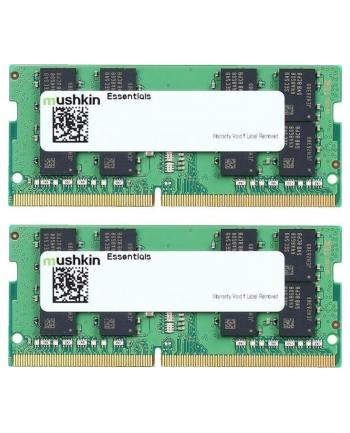 Mushkin DDR4 - 64 GB -3200 - CL - 22 - Dual Kit, Essentials (MES4S320NF32GX2)