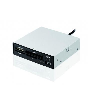 Czytnik kart, I-BOX 62w1 + USB  CZARNY (wew)
