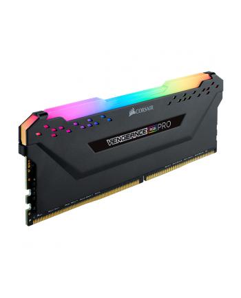 Corsair DDR4 - 64 GB -3600 - CL - 18 - Quad-Kit, RAM(black, CMW64GX4M4D3600C18, Vengeance RGB PRO)