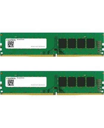 Mushkin DDR4 - 64 GB -3200 - CL - 22 - Dual Kit, RAM(MES4U320NF32GX2, Essentials)
