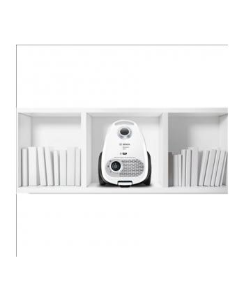 Bosch Odkurzacz MoveOn Mini  BGL25MON9 Bagged, Dry cleaning, Power 600 W, Dust capacity 3.5 L, 78 dB, White/Black