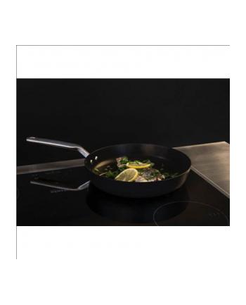 Fiskars Pan 1023756 Frying, Diameter 24 cm, Suitable for induction hob, Fixed handle, Black