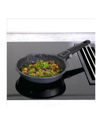 Stoneline Imagination PLUS pan 19940 Frying, Diameter 20 cm, Suitable for induction hob, Removable handle, Anthracite