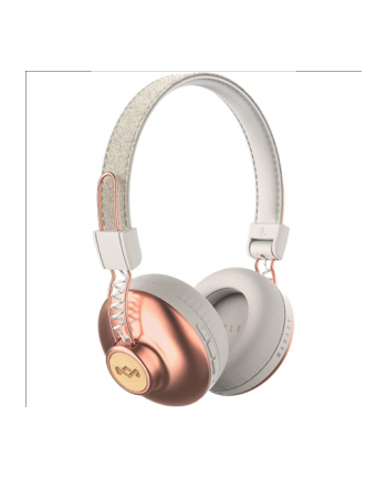 Marley Positive Vibration BT, On-Ear, Wireless, Microphone, Copper