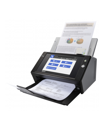 Skaner dokumentów Fujitsu N7100E IMAGE network scanner A4 / szybkość skanowania 25 ppm, rozdzielczość 600dpi, Duplex, GLAN