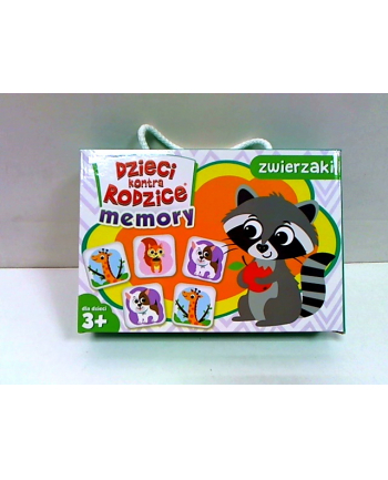 kangur - gry Dzieci kontra rodzice gra Memory zwierzaki 71373