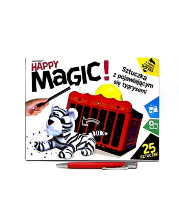 Wesoła Magia Tygrys i klatka gra CARTAMUNDI