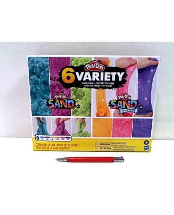 hasbro PLD Sand piasek 4-pak Syreńskie kolory F0103 /6