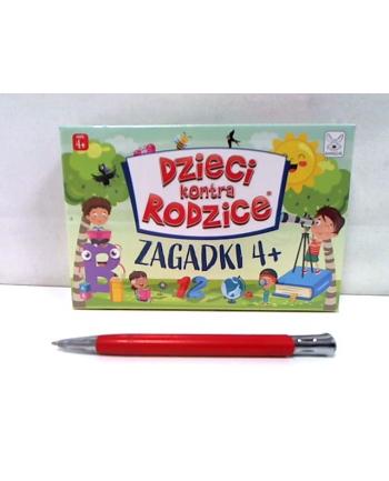 kangur - gry Dzieci kontra rodzice gra Zagadki 4+ 08705
