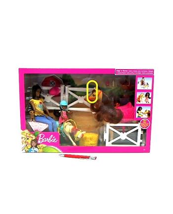 mattel Barbie lalki w stadninie koni FXH16 /2
