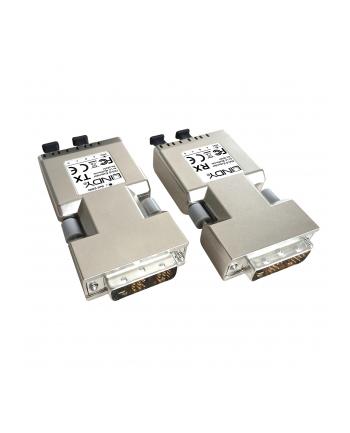 LINDY Adapter AV DVI-D 500m Fiber/LWL (38301)