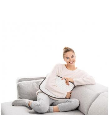 Terapeutyczna poduszka elektryczna BEURER HK Limited Edition Cosy 276.88 / 44 x 33 cm.  (model 2020) / moc grzewcza 100W / Kolor: kremowo-beżowy