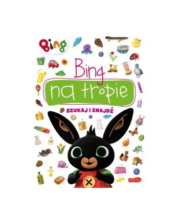harpercollins Książka Bingo na tropie. Szukaj i znajdź.