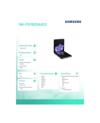 samsung Galaxy Z Flip DS 5G 8/256GB Szary