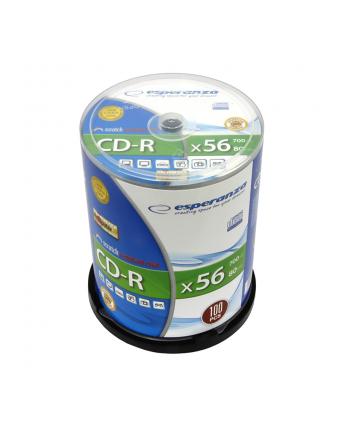 CD-R ESPERANZA Silver - Cake Box 100