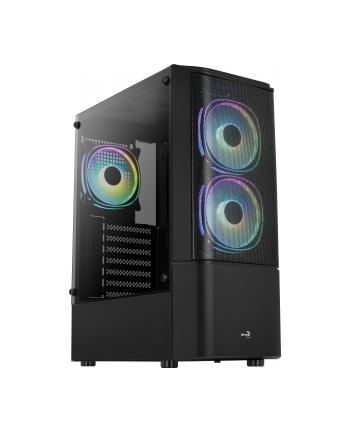 Aerocool Quantum Mesh v3 TG black ATX ACCM-PV31133.11