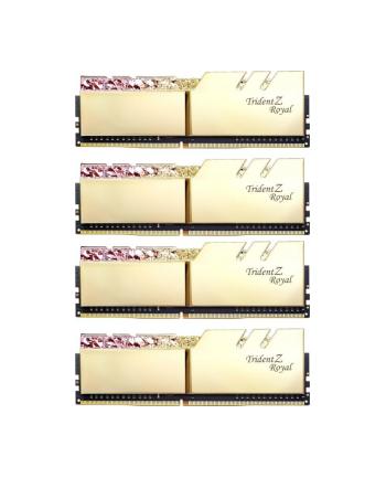 G.Skill DDR4 - 32GB -3600 - CL - 16 - Quad Kit, Trident Z Royal (gold, F4-3600C16Q-32GTRGC)