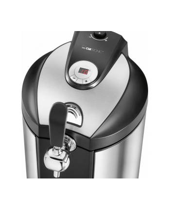 Clatronic beer dispenser BZ 3740 silver / black - for 5L kegs