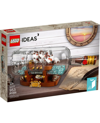 LEGO 92177 IDEAS Statek w butelce p3