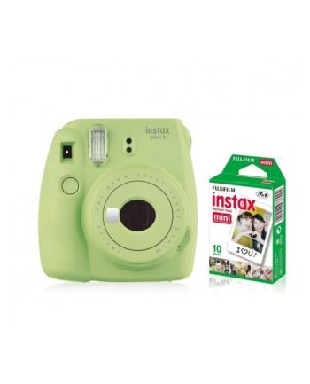 fujifilm Aparat Instax Mini 9 zielony + wkład 10 sztuk zdjęć