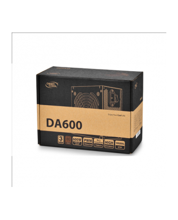Deepcool DA series 80 Plus Bronze 600W (DPBZDA600N)