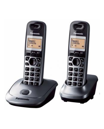 TELEFON PANASONIC KX-TG2512PDM - 2 SŁUCHAWKI