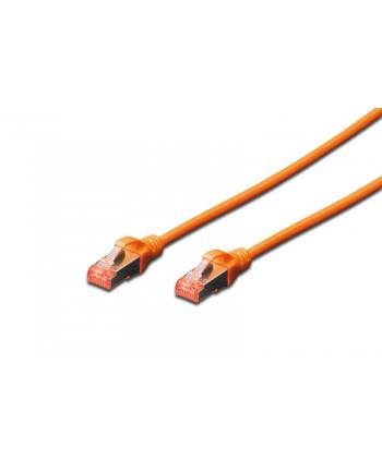 Digitus Patchcord CAT6 S-ftp.6 0,5m Pomarańczowy (DK1644005OR)
