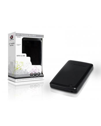 Conceptronic USB MINI HARDDISK 2.5IN BLACK (13000161)