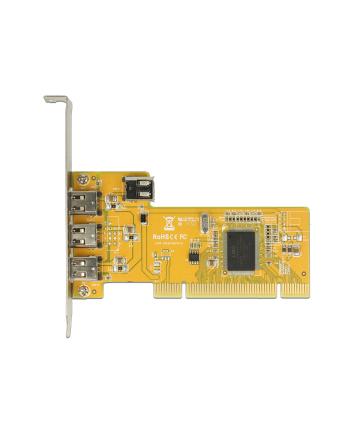 Delock PCI /3x FireWire1394A + 1x FW1394A (89443)