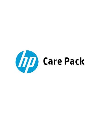 HP Care Pack usługa w punkcie serw. HP z transp.  z wył. monitora  4 lata UK720E
