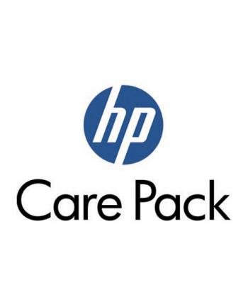 HP Care Pack serwis w m.inst. z reakcją w nast. dn. rob.  z wył. monitora  ochrona w razie przypadk. uszkodz.  3 lata UK726E