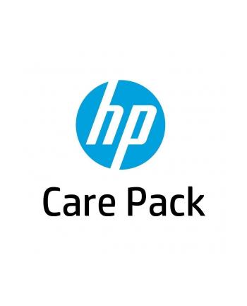 HP Care Pack serwis w m.inst. z reakcją w nast. dn. rob.  z wył. monitora  cały świat  4 lata UL654E