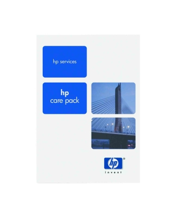 HP Care Pack serwis w m.inst. z reakcją w nast. dn. rob.  z wył. monitora  cały świat  ochrona w razie przypadk. uszkodz.  DMR  3 lata UQ820E