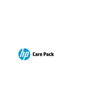 HP Care Pack serwis w m.inst. z reakcją w nast. dn. rob.  z wył. monitora  cały świat  ochrona w razie przypadk. uszkodz.  4 lata UQ821E