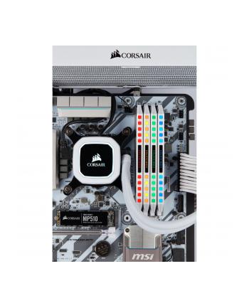 Corsair DDR4 - 32 GB -3200 - CL - 16 - Quad-Kit, Dominator Platinum RGB (white, CMT32GX4M4Z3200C16W)
