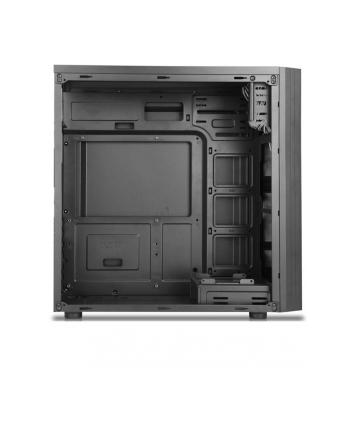 1stCOOL JAZZ 2 Midi Tower AU USB 3.0 Blue FAN,czarna (MDJAZZ2AUUSB3FBLUE)