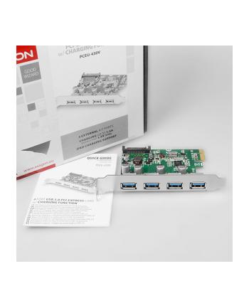 AXAGON AXAGON AXAGO  KONTROLER PCI-EXPRESS 4X USB 3.0   (PCEU430V)