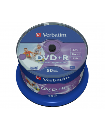 DVD R 16x 4.7GB 50P CB PrintableID 43651