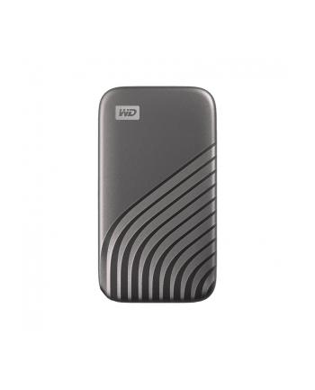 WD My Passport 2TB SSD Szary (WDBAGF0020BGYWESN)