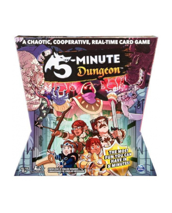 spin master 5 minut Dungeon gra karciana 6060705