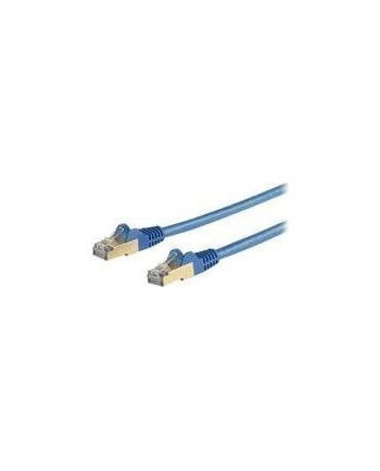 Startech.COM 10M CAT6A ETHERNET CABLE - BLUE RJ45 SHIELDED CABLE SNAGLESS - PATCH CABLE - 10 M - BLUE  (6ASPAT10MBL)
