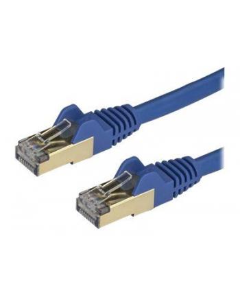 Startech.COM 7.5 M CAT6A CABLE - BLUE - RJ45 ETHERNET CABLE - SNAGLESS - CAT6A STP CORD - COPPER WIRE - 10GB - PATCH CABLE - 7.5 M - BLUE  (6ASPAT750C